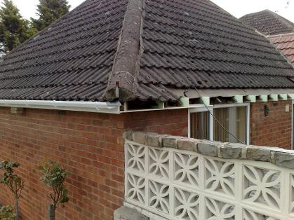 Hip Roof full replacement of Fascias, Soffits