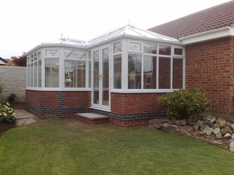 Any shape or design conservatory.
